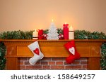 Christmas Stockings Hanging...