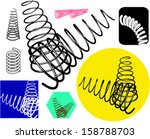 springs set | Shutterstock .eps vector #158788703
