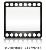film frame  35mm  film strip ...   Shutterstock .eps vector #158796467