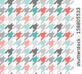Houndstooth Seamless Pattern ...