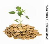 financial growth | Shutterstock . vector #158815043