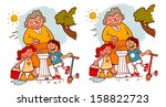 find 10 differences  water... | Shutterstock . vector #158822723