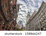 the historic skyscrapers of... | Shutterstock . vector #158866247