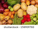 Selection Of Vegetables A...
