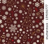 seamless pattern with... | Shutterstock .eps vector #159050777