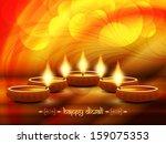 artistic background design in... | Shutterstock .eps vector #159075353