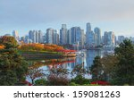 Stock photo vancouver in british columbia canada 159081263