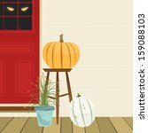 simple clean halloween theme... | Shutterstock .eps vector #159088103