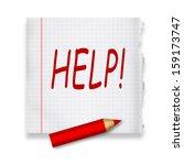 help | Shutterstock . vector #159173747