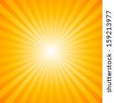 Sunburst Pattern. Radial...