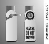 detailed illustration of do not ... | Shutterstock .eps vector #159231677