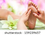 close up of therapist's hands... | Shutterstock . vector #159239657