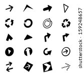 arrow icon set  vector...