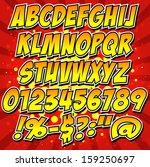 alfabeto,colección,cómics,fuente,brillante,estilizado,plantilla,tipo,composición tipográfica,palabra