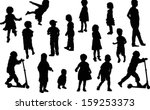 illustration with child... | Shutterstock .eps vector #159253373