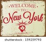 touristic retro vintage... | Shutterstock .eps vector #159259793