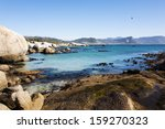 cape town   beautiful bays of... | Shutterstock . vector #159270323