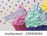Thank You Cupcake Card Design