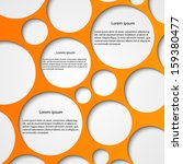 abstract infographic. modern... | Shutterstock .eps vector #159380477