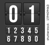 Countdown Timer  White Color...