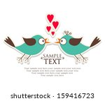 invitation card for wedding | Shutterstock .eps vector #159416723
