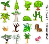 tree vector illustration...   Shutterstock .eps vector #159437753