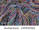 Abstract Computer Network...