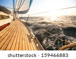 yacht  sailing regatta. luxury... | Shutterstock . vector #159466883
