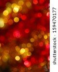 christmas lights background | Shutterstock . vector #159470177