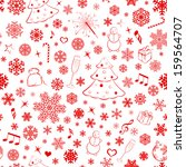 seamless pattern with... | Shutterstock . vector #159564707