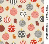 seamless pattern with balls | Shutterstock .eps vector #159575867