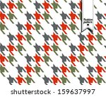 fashion seamless pattern. | Shutterstock .eps vector #159637997
