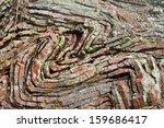 Folded Sedimentary Chert Layer...