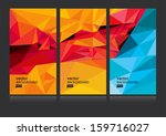 vector abstract background set... | Shutterstock .eps vector #159716027