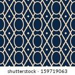 vector seamless victorian... | Shutterstock .eps vector #159719063