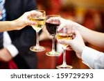 celebration. people holding... | Shutterstock . vector #159729293