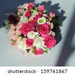 bridal bouquet of various... | Shutterstock . vector #159761867