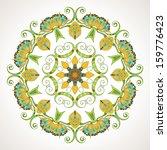 vintage vector pattern. hand... | Shutterstock .eps vector #159776423