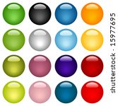 colorful website icons set  ... | Shutterstock . vector #15977695