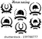 horse racing. logo | Shutterstock .eps vector #159788777