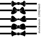 An image of a set of bowties.