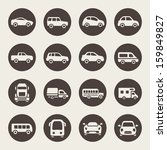 automobile,bus,business,car,classic,collection,commercial,design,element,graphic,icon,illustration,isolated,logistic,mini