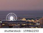 night shot towards cape town... | Shutterstock . vector #159862253