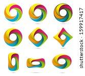 impossible infinite loop vector ... | Shutterstock .eps vector #159917417