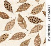 seamless pattern of handmade... | Shutterstock .eps vector #159932897