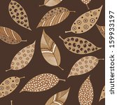 seamless pattern of hand drawn... | Shutterstock .eps vector #159933197