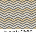 yellow and gray zigzag textured ... | Shutterstock . vector #159967823