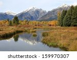 black tail pond reflecting the... | Shutterstock . vector #159970307