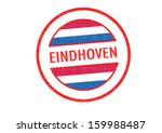 passport style eindhoven rubber ... | Shutterstock . vector #159988487