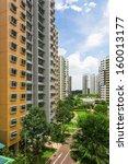a new colorful neighborhood... | Shutterstock . vector #160013177